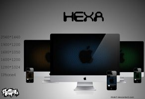 'Hexa' - wallpaperpack color by 2tobi7