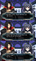 Hyperdimension Neptunia X Blazblue Comic Part 13 by pratama221