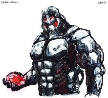 An Attempt at Ultron by aokamidu