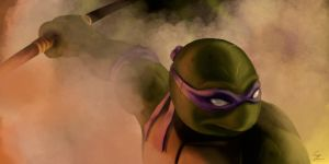 TMNT's Donatello by cartoncaron