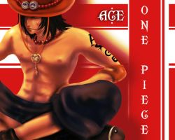 One Piece - Ace by Noxism