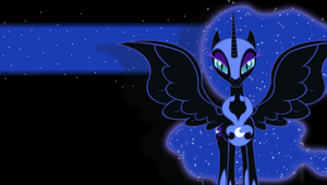 Nightmare Moon PSP BG V2 by Stratolicious