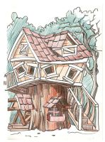 tree house by rudat