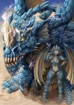 DnD - Blue Dragon by Barbariank