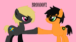 Brohoof!~~~~~~~~~For GetMilk12 by AlexisRainbowKitten