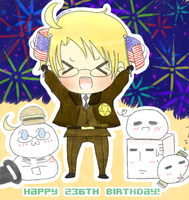 APH: America's 236th Birthday by wonsterrr