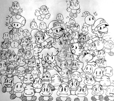 goomba invasion owo by Goombarina