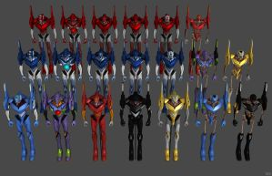 'Unreal Tournament 3' Evangelion Pack 2.0 XPS ONLY by lezisell