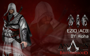 Assassin's Creed Brotherhood: Ezio Auditore by XNASyndicate