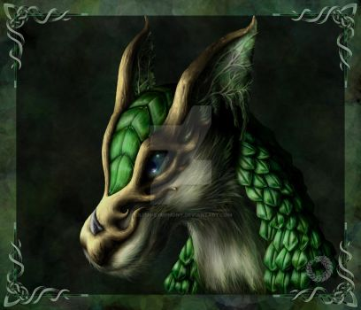 Dragon of Wood by Lilith-Symphony