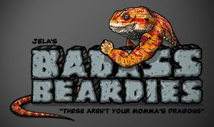 Jela's Badass Beardies Logo by benji138