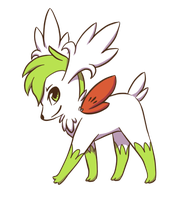 Shaymin Sky Forme by Poket-Skitts