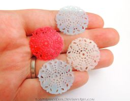 1:12 Large Doilies by Bon-AppetEats