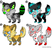 Point Adoptables [CLOSED] by NoirNeotenic