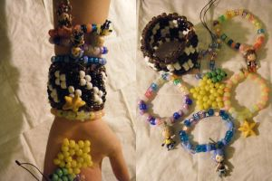 Kingdom Hearts Kandi by kookiekween99
