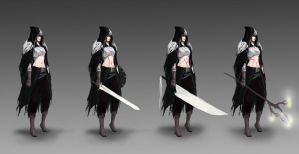 Dying Ember - Main Character concept by jeffchendesigns