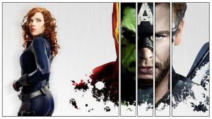 Avengers by cubeous