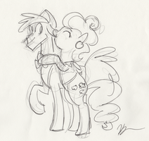 BronyCon Sketch: Nibble by Egophiliac by TheDescendantofKehAn