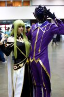 Anime Expo 2014 - Code Geass - C.C. and Lelouch by MrJoshBox