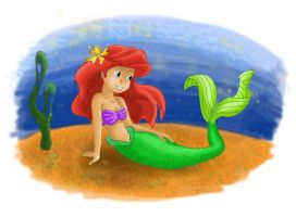 Ariel the little mermaid by amy2sa-fan