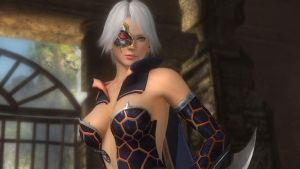DOA5LR - Christie Fighter Force 01 by MomijiHayabusa