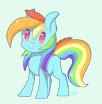 Dashie by SnowSky-S