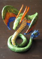 Quetzalcoatl Sculpture by BrandyWoods