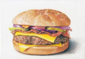Cheeseburger by HannahLouCatherine