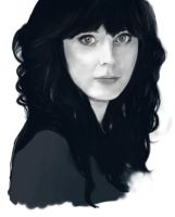 Zooey Deschanel by IdaRahayu