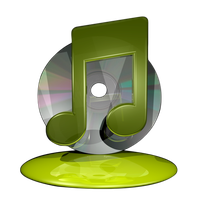 iTunes Icon - Yellow by Dario999
