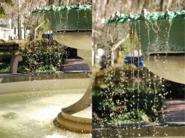Fountain Drops by PatchworkPearl