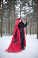 Red Riding Hood 2 - female stock by Dea-Vesta