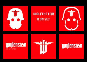 Wolfenstein Icon Set by ThePandaPredator