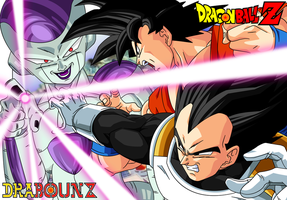DBZ FNF: Goku and Vegeta vs Freezer by DrabounZ