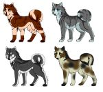 Doge adopts [CLOSED] by HalfmoontheLynx