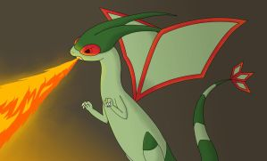 Flygon Contest: Let it Burn by Rain7-Wolfie