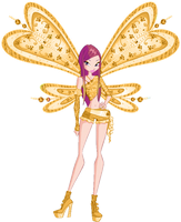 Winx Club Gold Believex Roxy! by AlexaSpears1333