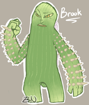 Brook the Cactus Mutant by BoxedNaga