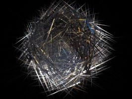 Abstract Spike ball by mustash2003