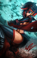 Kill la Kill - Before my Body is Dry by W-E-Z