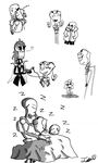 Boo in Undertale [Sketches] by QueenOfSkulls
