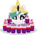 A Celesty Cupcake (first version) by j5a4