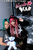 Winter 07 Girls and Bear by BleedingStarClothing