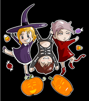 Bad Touch Trio Halloween by Arkham-Insanity