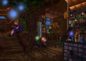 Colorful Magic by TimareeZadel