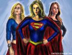 Supergirls by EdArtGeek