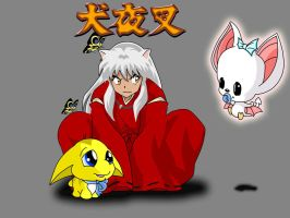 Inuyasha and Neopets by ragingpixels