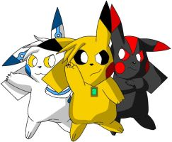 Triple Power by Pikacshu
