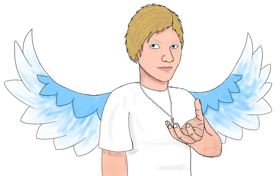 Angel me by willowleaf11