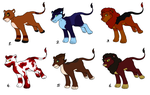 Lion adopts- OPEN by casualadopts